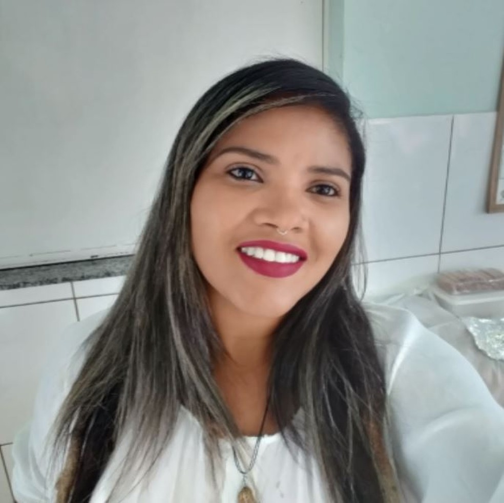 Roberta Camile de Araújo Silva foi morta a facadas em Bandeira do Sul (MG) — Foto: Reprodução/EPTV