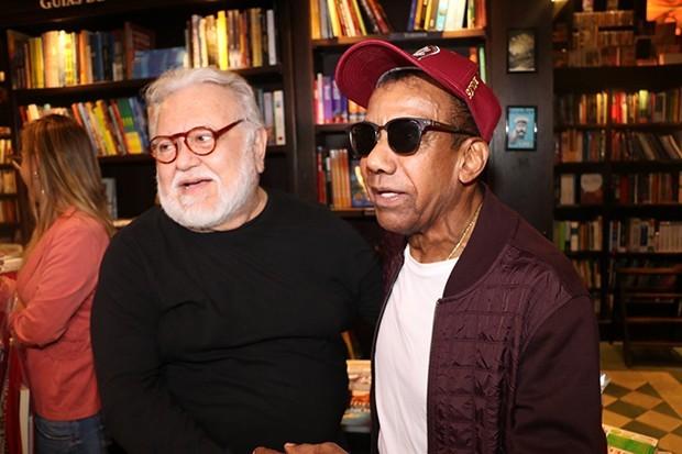 Washington Olivetto e Jorge Ben Jor (Foto: Rogerio Fidalgo/ AgNews)