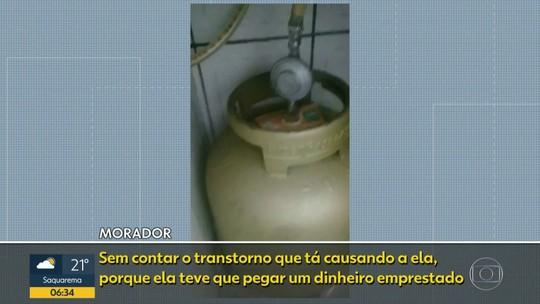 Moradores da Cidade Alta reclamam de falta de gás encanado