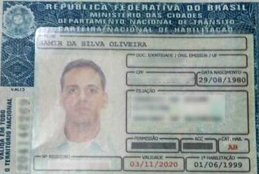 PM Samir da Silva Oliveiro morreu após ser baleado no Rio (Foto: Reprodução)