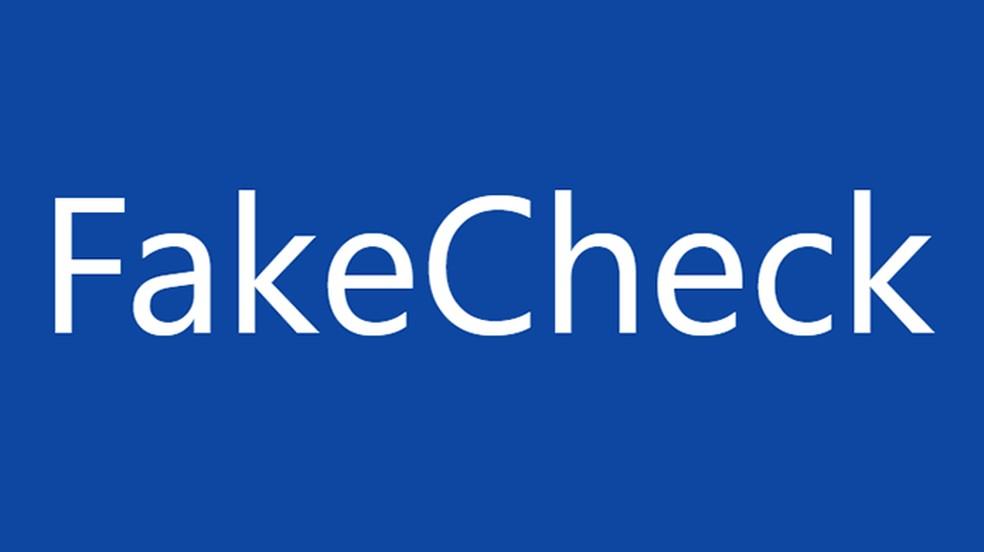 Fake Check — Foto: Reprodução/Fake Check