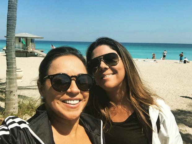 Daniela Mercury e Malu (Foto: Reprodução/Instagram)