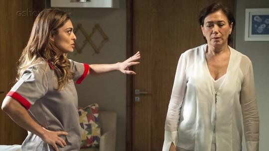 Bibi faz ligação na casa de Silvana e é rastreada por Caio
