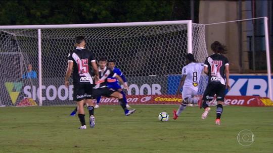 Vasco sofre na temporada com gols nos quinze minutos finais dos jogos