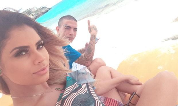Lexa e Guimê em lua de mel no Caribe (Foto: Reprodução/Instagram)