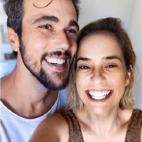 Paloma Duarte e Bruno Ferrari (Foto: Reprodução)