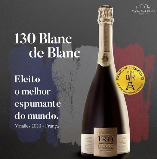 O 130 Blanc de Blanc da Casa Valduga é o melhor espumante do mundo