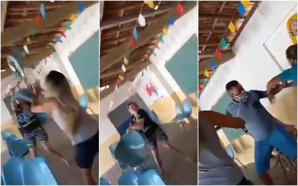 Briga com cadeiradas em fila de vacinação na Paraíba viraliza nas redes  sociais   Paraíba   G1