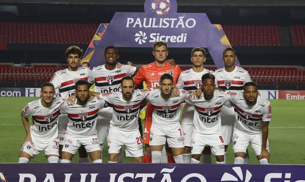 Diretoria cogita corte salarial dos jogadores do São Paulo por mais tempo — Foto: Rubens Chiri/saopaulofc.net