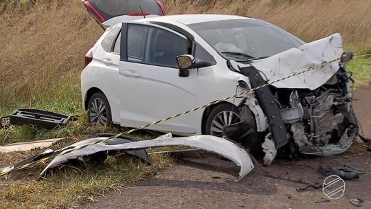 Menina que sobreviveu a acidente da BR-060 é transferida para CTI da Santa Casa de Campo Grande