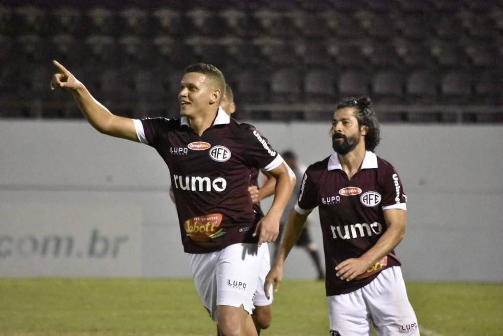 Felype Hebert fez oito gols pela Ferroviária em 2019 — Foto: Tetê Viviani