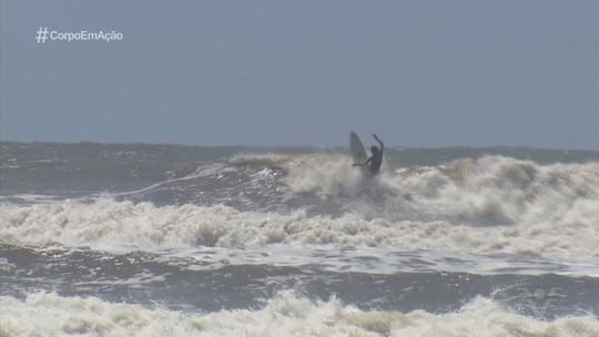 Campeonato Brasileiro Pro Júnior de Surfe é disputado em Peruíbe