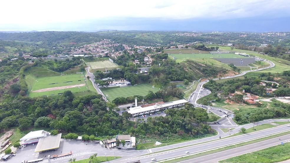 Cidade do Galo, CT do Atlético — Foto: Divulgação Atlético-MG