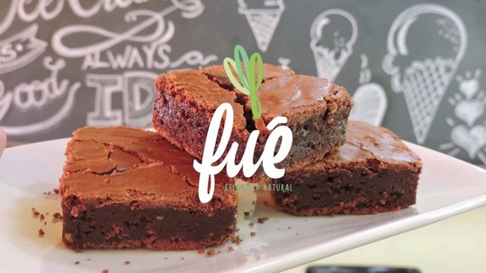 Brownie com Crumble e Ganache de Chocolate
