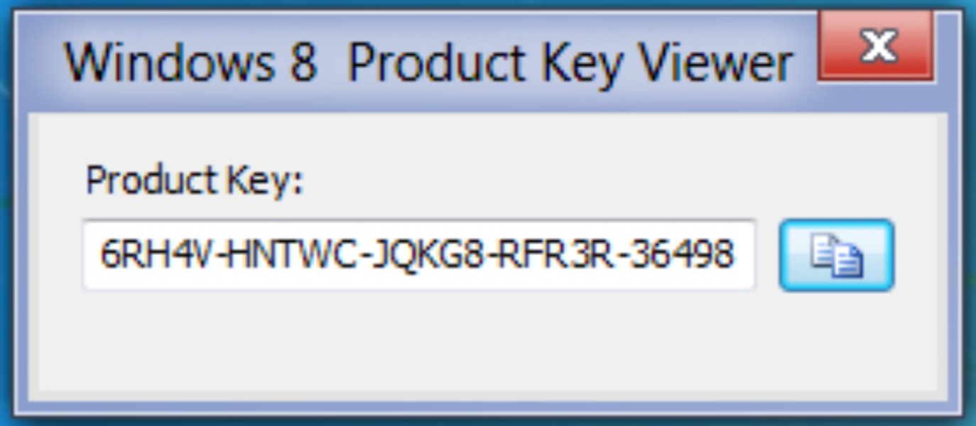 window 8 product key viewer