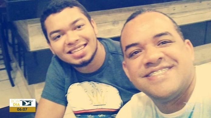 Lucas Sousa da Silva e Valderi Santos Aquino Júnior foram presos.  — Foto: Reprodução/ TV Mirante