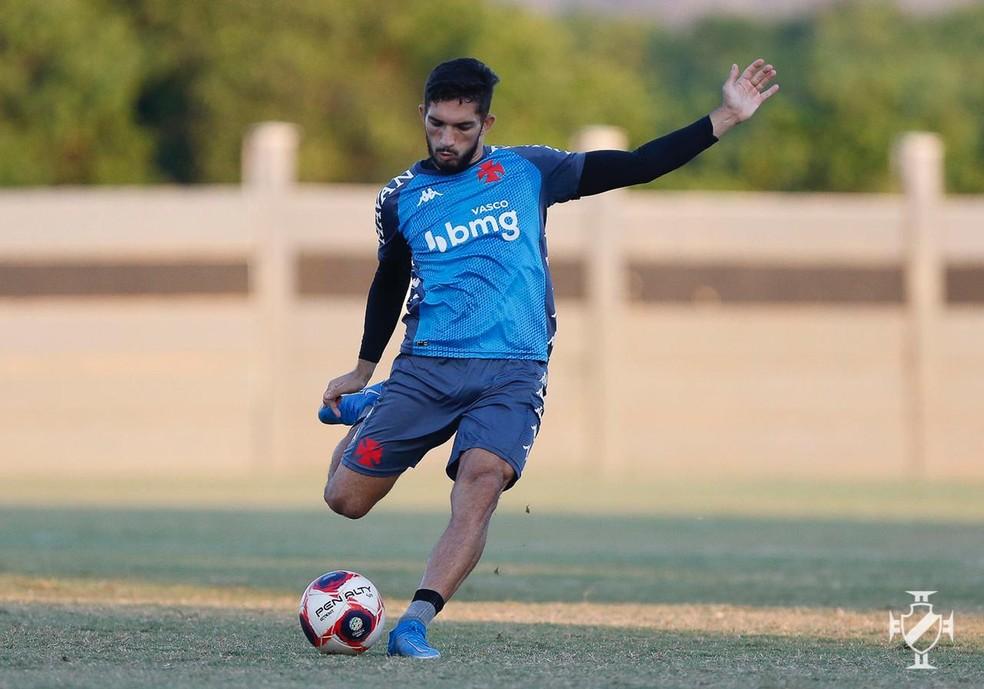Andrey atualmente é titular do Vasco — Foto: Rafael Ribeiro/Vasco