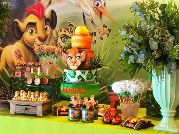 Decoração da festa de Joaquim (Foto: Reprodução/ Instagram)