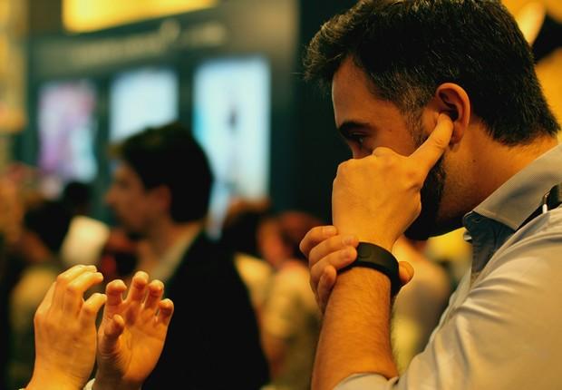 O Sgnl é um relógio e bracelete no estilo James Bond (Foto: Felipe Maia/Época NEGÓCIOS)