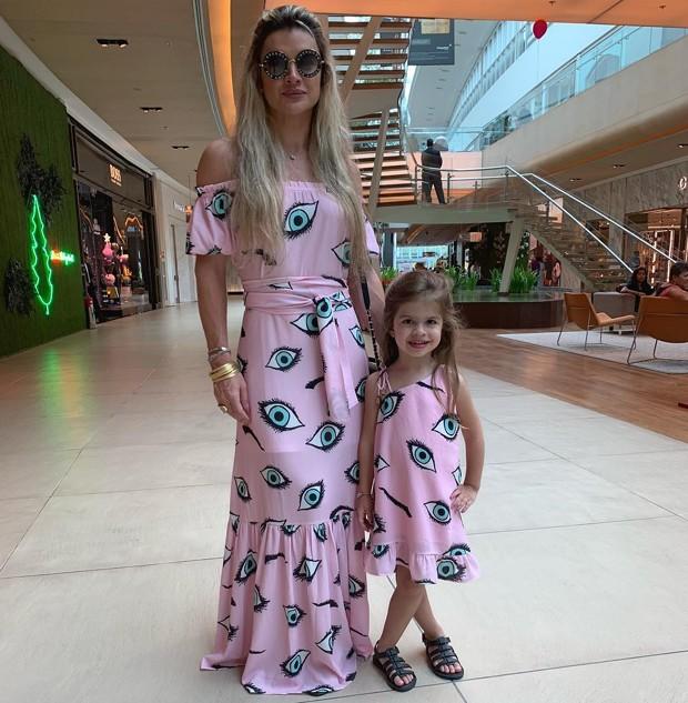 Mirella Santos e a filha, Valentina (Foto: Reprodução Instagram)