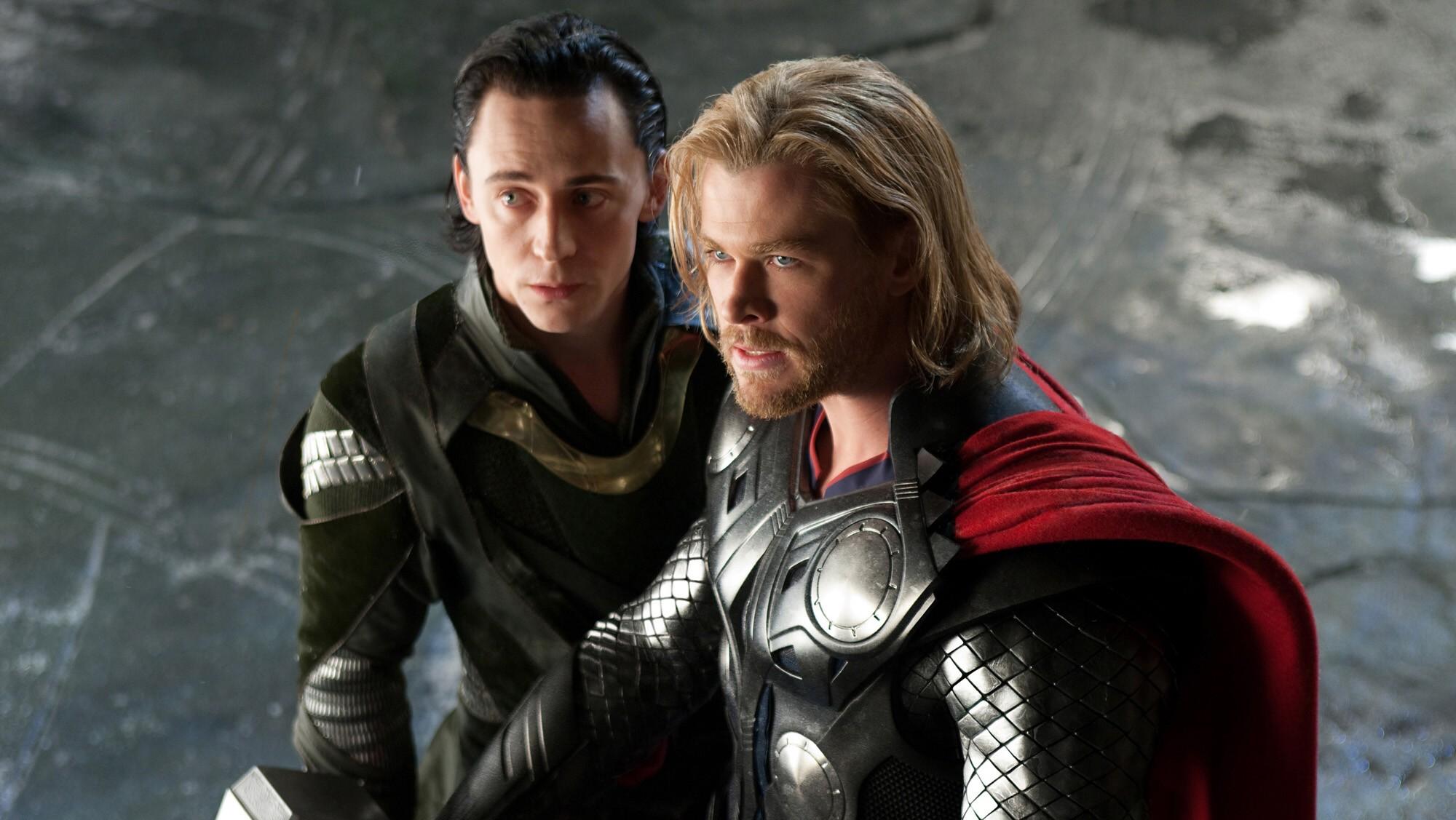 Thor e Loki em Asgard (Foto: Divulgação)