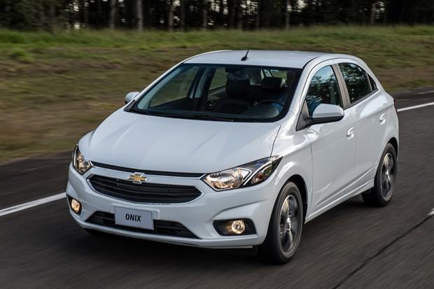 Novo Chevrolet Onix LTZ (Foto: Divulgação)