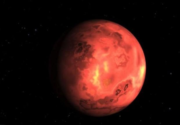 BBC: Muitos anos atrás, a Terra não era muito diferente de K2-141b (Foto: NASA VIA BBC)