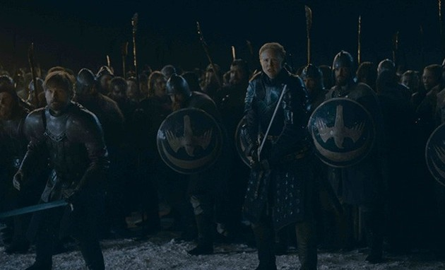 Batalha de Winterfell, em 'Game of Thrones' (Foto: HBO)