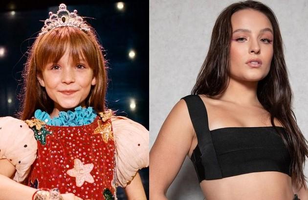Larissa Manoela apareceu quando criança no filme 'O palhação', de Selton Mello. Ela se tornou um sucesso entre o público jovem e, em 2022, estreará na Globo como protagonista de 'Além da ilusão' (Foto: Reprodução)