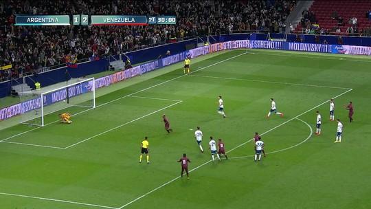 Base vice do mundo sub-20 e que venceu Messi: a Venezuela para enfrentar o Brasil