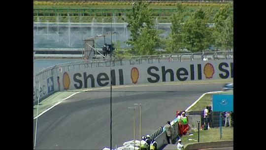 """Muro dos Campeões já foi """"beijado"""" por Vettel, Schumacher, Hill e Villeneuve"""