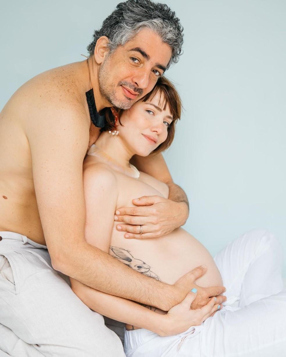 Letícia Colin e Michel Melamed