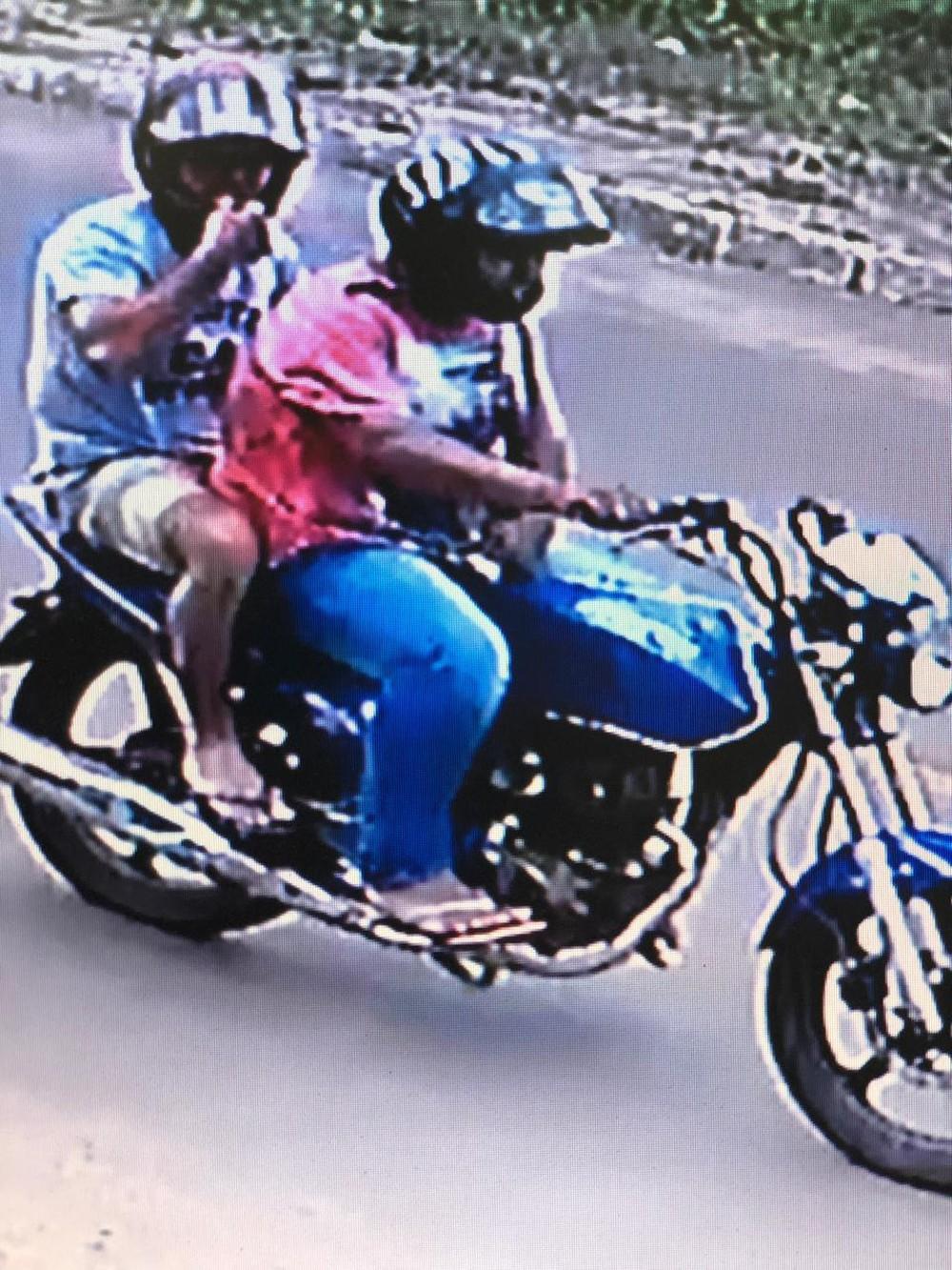De acordo com a polícia, dupla é responsável por 7 roubos na região de Ponta Porã (MS). — Foto: Divulgação/Polícia Militar