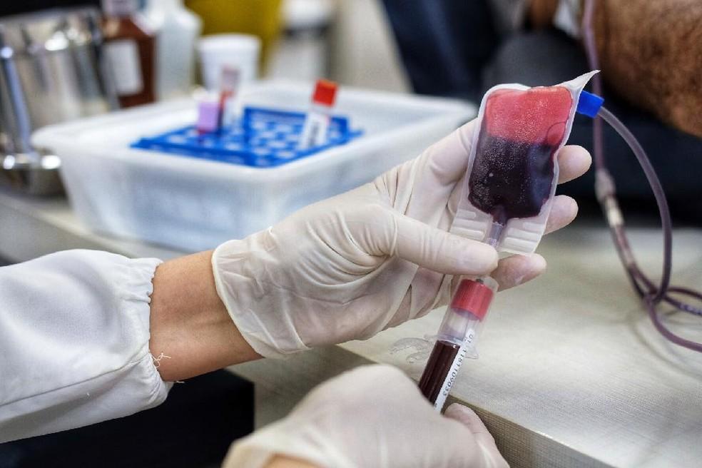 A doação de sangue é um ato altruísta e totalmente voluntário, que pode salvar vidas  — Foto: Gcom-MT/Mayke Toscano