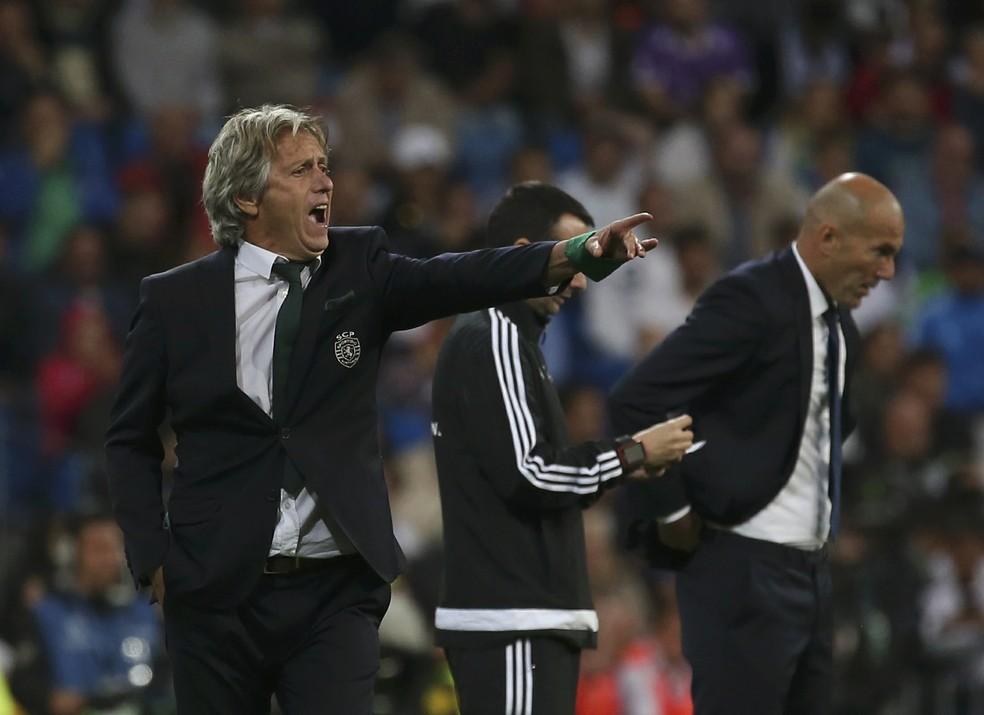 Jorge Jesus - Sporting — Foto: REUTERS/Susana Vera