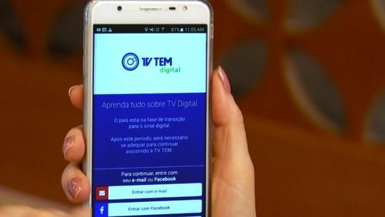 Baixe o aplicativo da TV Digital em seu celular