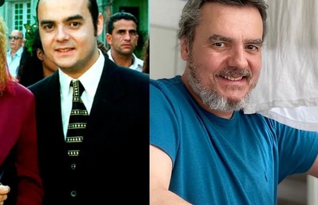 Cassio  Gabus Mendes viveu Sérgio Murilo, que se casou com Dinorah. O último papel do ator na TV foi em 'Éramos seis' (Foto: TV Globo / Reprodução)