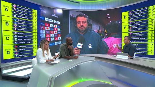 Comentaristas condenam falhas do Flamengo e repórter cita detalhe em primeiro gol sofrido