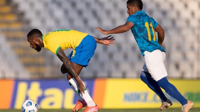 Seleção olímpica do Brasil tropeça em amistoso contra a equipe de Cabo Verde