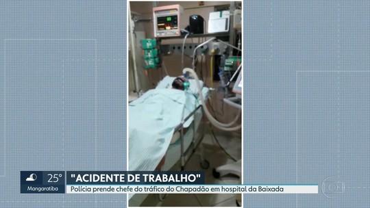 Chefe do tráfico do Chapadão é preso em hospital particular em São João de Meriti