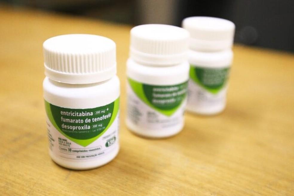 Com o pedido médico em mãos, pacientes podem retirar o medicamento nas Unidades Dispensadoras de Medicamentos de antirretrovirais (UDM) — Foto: Geovana Albuquerque/Agência Saúde-DF