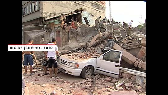 Veja o histórico de desabamentos de prédios no país