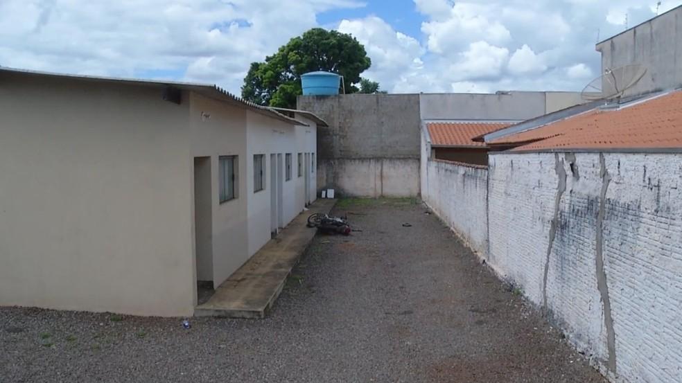 Homem morreu dentro de casa em Ourinhos — Foto: Reprodução/TV TEM
