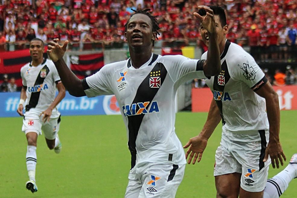 Andrezinho vai defender o Nova Iguaçu no Carioca — Foto: Carlos Gregório Jr-Vasco.com.br.