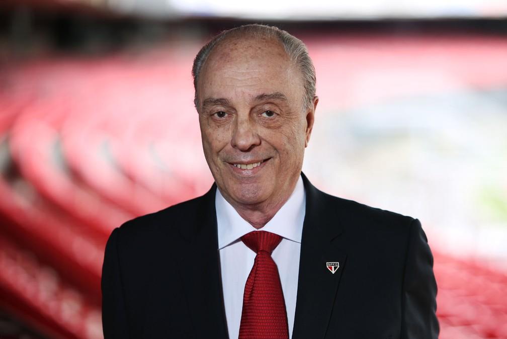 José Eduardo Mesquita Pimenta é ex-presidente do São Paulo — Foto: Rubens Chiri / saopaulofc.net