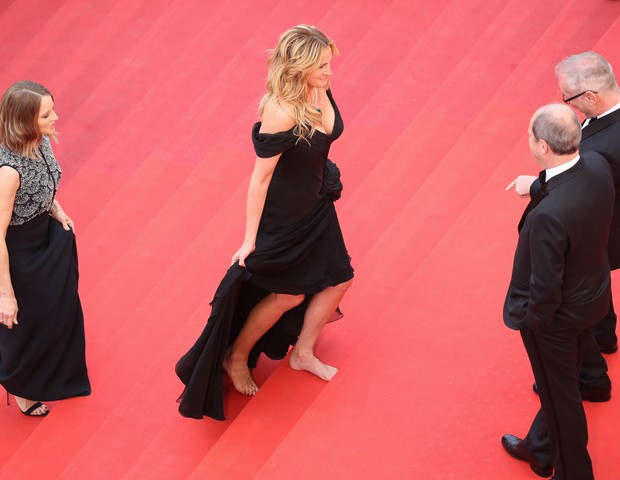 Julia Roberts em Cannes (Foto: Getty)