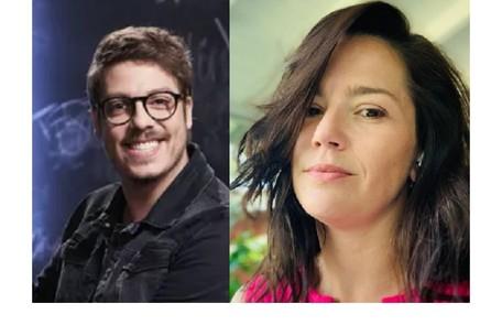 Fábio Porchat, que em seu programa no GNT pergunta aos famosos sobre 'crushes', revela ao site que Natalia Lage era a sua na adolescência Reprodução