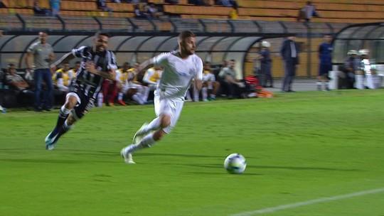 Melhores momentos de Santos 2 x 0 Ceará pela 1ª rodada do Brasileirão 2018