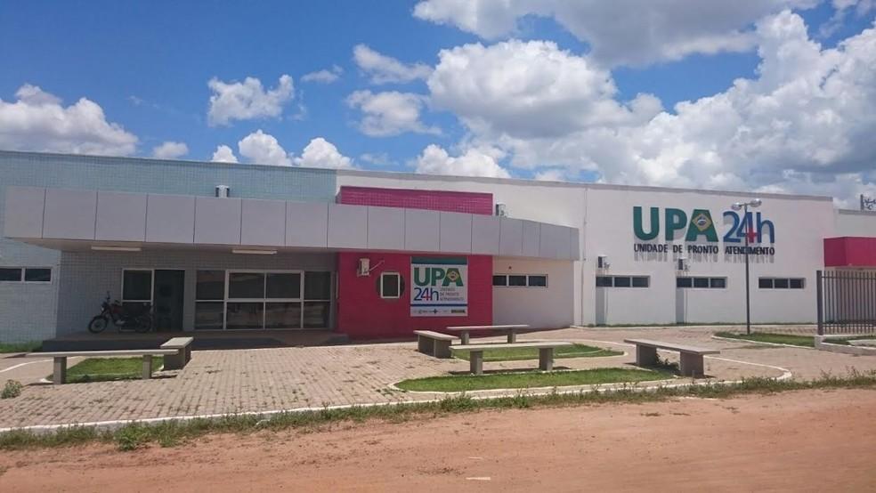 Vítima foi encaminhada para a UPA de São Raimundo Nonato — Foto: Larissa Reis/Arquivo Pessoal