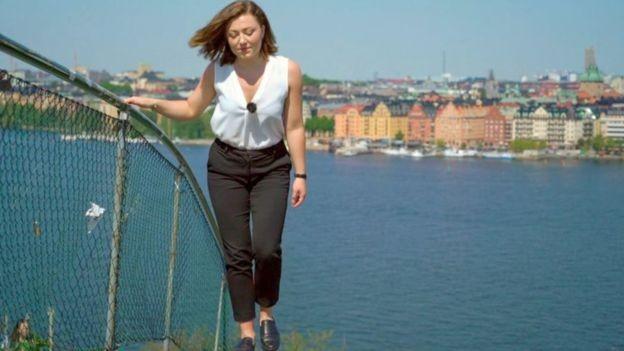 Não é só o trabalho – Cecilia Axeland diz que a pressão para se exercitar e fazer coisas no tempo livre também levam à exaustão (Foto: BENOÎT DERRIER)